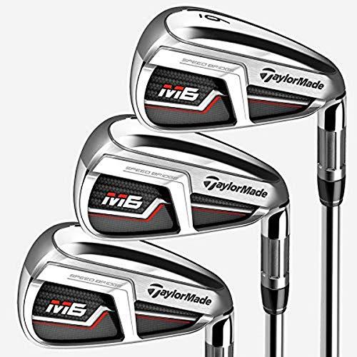TaylorMade Golf M6 Iron Set, 4-PW, Left Hand, Regular Flex Shaft: Fujikura Atmos...