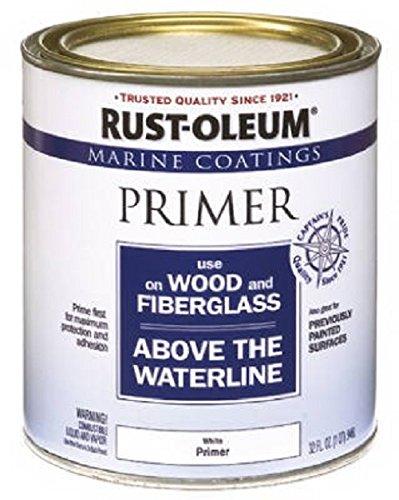 Rust-Oleum 207014 Marine Wood and Fiberglass Primer, 32 Fl Oz (Pack of 1)