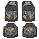 FH Group F11312 Premium Autumn Camo Trimmable Floor Mats (Camo) Full Set - Universal Fit for Cars Trucks and SUVs