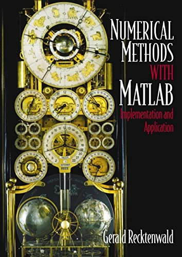 Compare Textbook Prices for Numerical Methods with MATLAB : Implementations and Applications 2nd Edition ISBN 9780201308600 by Recktenwald, Gerald