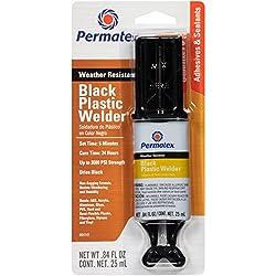 in budget affordable Permatex 84145 Permapoxy Black Plastic Welding – 0.84 fl.oz.