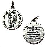 Archangel Gabriel Protect Protection Medal Pendant...
