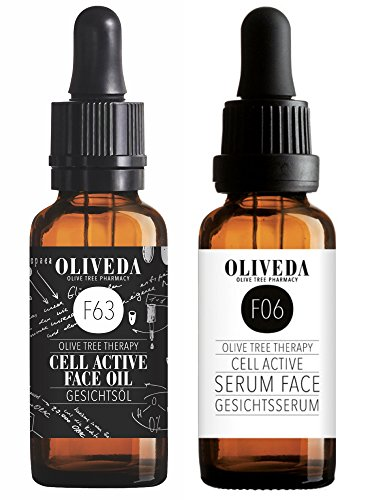 Oliveda LOVE DUO F06 Cell Active Serum 30 ml + F63 Cell Active Gesichtsöl 30 ml