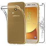 ebestStar - Funda Compatible con Samsung J7 2017 Galaxy SM-J730F Carcasa Silicona, Protección Claro...