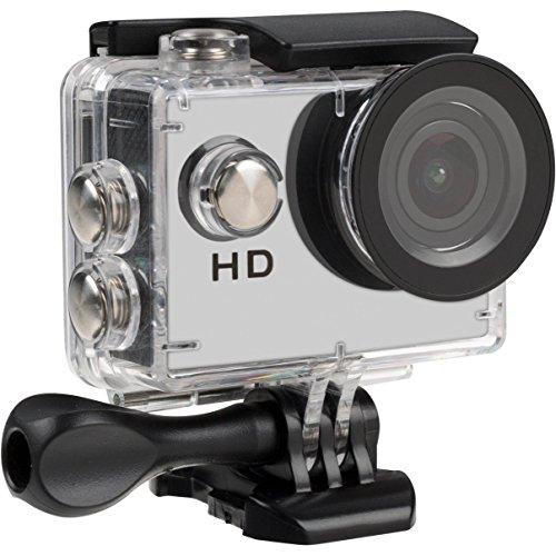 Tec+ Action Camera per Sport, con Display HD, 720 P, Inclusi Supporti Vari e Custodia Impermeabile
