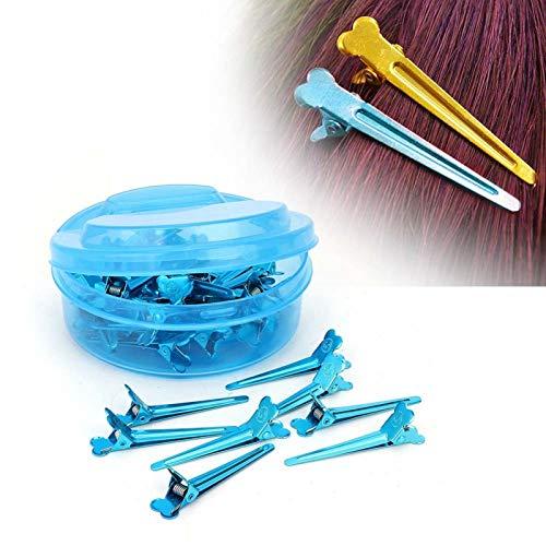 Friseur Styling Salon Tool Haarstyling Clips Praktisch für den täglichen Gebrauch im Haushalt(blue)