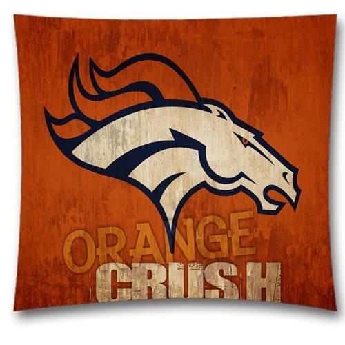 Denver Broncos orange crush pillow case