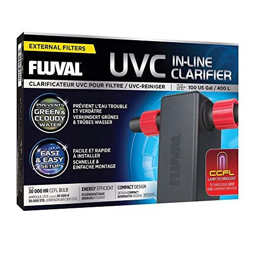 Fluval A203 UVC Reiniger für Aquarien Außenfilter zur Wasserreinigung, 0.447 kg