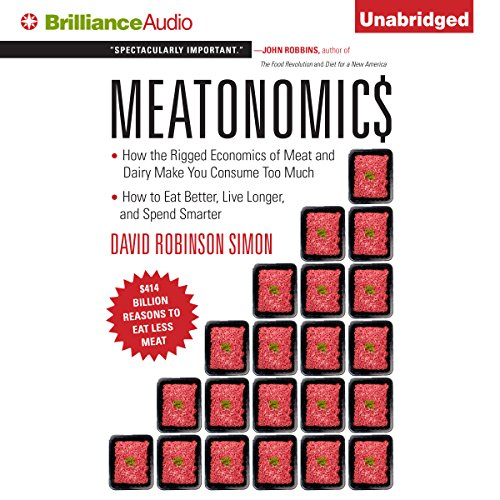 Meatonomics audiobook cover art