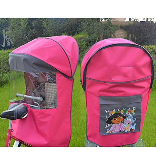 Universele Outdoor Fiets Kinderzitje Winddicht Zonnescherm Regenhoes, Four Seasons Warm Radiation Canopy Cover