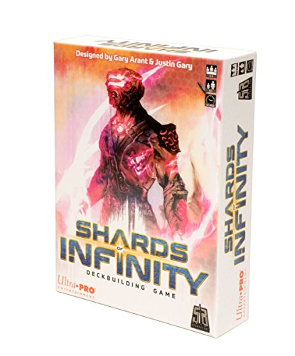 Ultra Pro Shards of Infinity, UPE10133: Deckbuilding game, multi-colour (Toy)