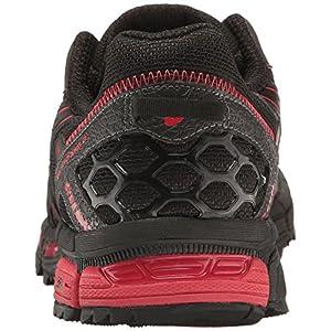ASICS Men's Gel-Kahana 8 Running Shoe, Black/Classic Red/Phantom, 10.5 Medium US