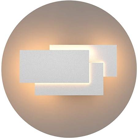 Klighten Appliques Murales Interieur LED Lampe 24W 1920LM Moderne Applique Murale pour Chambre Maison Couloir Salon Blanc chaud 3000K