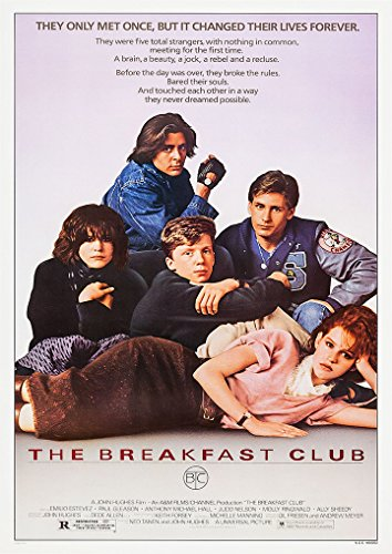 OMG Printing The Breakfast Club Film Folie A4 Poster Druck Bild 280 GSM Satin Fotopapier