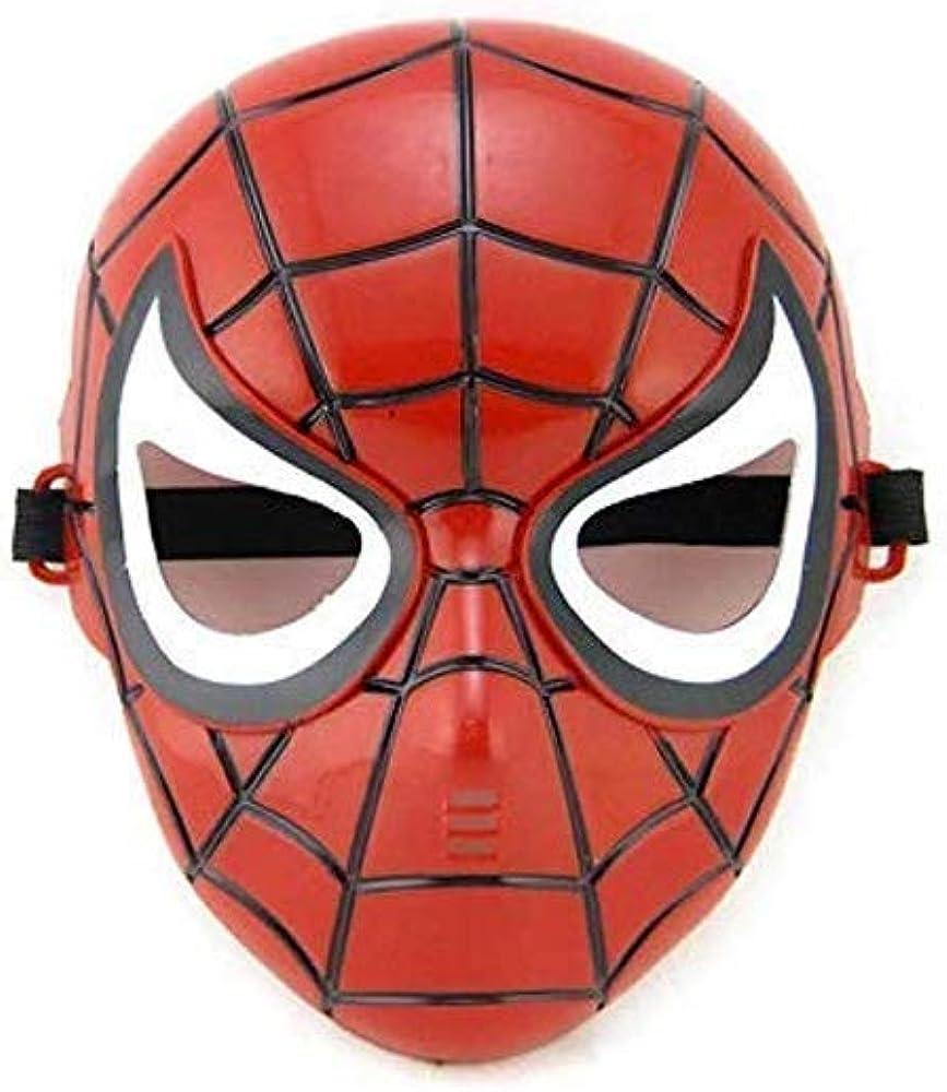 Cool Glowing Superhero Costume Accessories for Children Superhero LED Mask