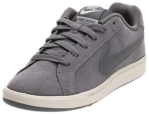 Nike Wmns Court Royale Suede, Zapatillas de Gimnasia Mujer, Gris (Gunsmoke/Gunsmoke/Phantom 004), 36.5 EU