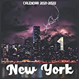 New York Calendar 2021-2022: April 2021 Through December 2022 Square Photo Book Monthly Planner New York small calendar