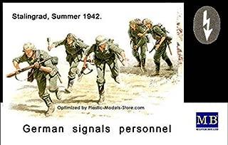Masterbox German Signal Personnel Stalingrad Summer 1/35 Master Box 3540