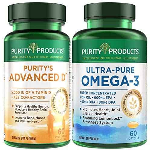 KIT - Dr. Cannell's Advanced D + Omega-3...