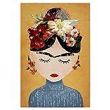 artboxONE Poster 30x20 cm Frida Kahlo Menschen Frida
