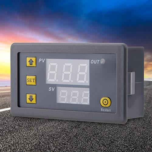 Termostato Alarma de alta temperatura Termostato digital Alta confiabilidad Seguro de usar Fácil de instalar Negocio(12V red and blue display)