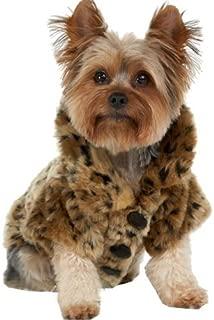 Tzou Dog Jacket Luxury Leopard