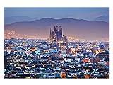 kunst-discounter Barcelona Sagrada Familia Leinwandbilder
