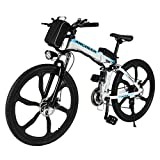 Best electric bicycle - ANCHEER Electric Bike Folding Electric Mountain Bike Review