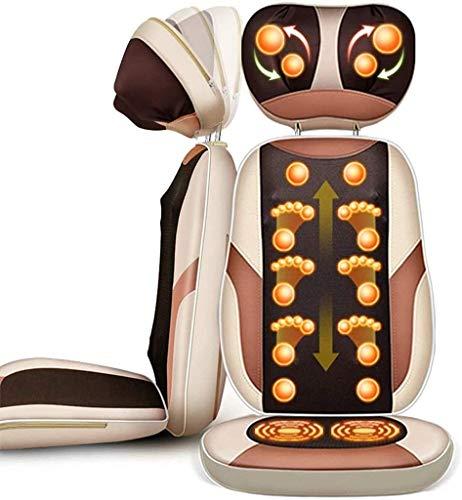 JYZT Auto Vibration Sitzmassage Sitzpolster, Multifunktionaler Nacken Taille Rücken...