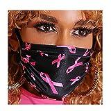 Barode Boho Mask Reusable Floral Face Cover Fabric Masquerade Masks Breathable Face Masks Cloth Clubwear...