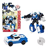 TRANSFORMERS Robots In Disguise - Robot Combiner Strongarm voiture police 15cm -...