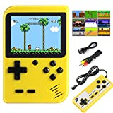 Diswoe&e Handheld Game Console, Portable Retro Game Player With 400 Classical FC Games 2.8-Inch Color Screen Handheld Gameboy Support TV Two Players 800mAh Rechargeable Battery Gift for Kids and Adult