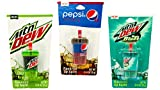 Novelty Soda Cup Lip Balms (3 Pack) Moutain Dew...
