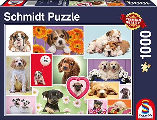 Schmidt- Puzzle Amici a Quattro Zampe 1000 Pezzi, 58231