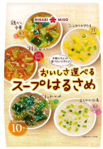 ひかり味噌 おいしさ選べるスープはるさめ 10食×4個