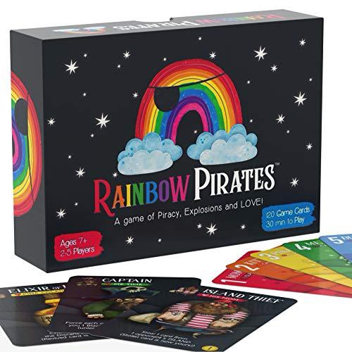 Rainbow Pirates Card Game - Fun 2-5…