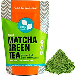 Want Long-Lasting Energy With No Jitters? Due to FDA regulations, we can't tell you that Epic Matcha green tea powder will give you 4 to 6 hours of sustained energy with no coffee crash or jitters. But our customer reviews do speak volumes. Matcha al...
