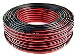 Audiopipe 100' Feet 16 GA Gauge Red Black 2 Conductor Speaker Wire Audio Cable