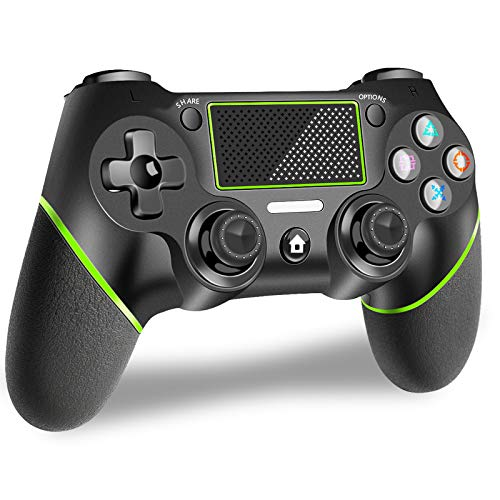 Wireless Controller für PS4,Bluetooth Game Controller für Playstation 4 Gamepad mit Dual Shock Touch Panel Audio-Buchse und sechs Achsen für PS4 / PS4 Slim / PS4 Pro / PC