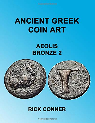 Ancient Greek Coin Art Aeolis Bronze 2