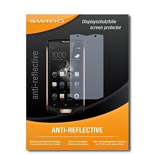 SWIDO Bildschirmschutz für Blackview BV8000 Pro [4 Stück] Anti-Reflex MATT Entspiegelnd, Hoher Festigkeitgrad, Schutz vor Kratzer/Glasfolie, Schutzfolie, Bildschirmschutzfolie, Panzerglas Folie