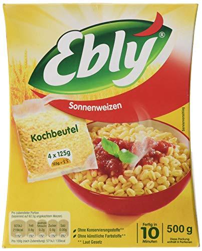Ebly Sonnenweizen, 10 Minuten Kochbeutel, 500g