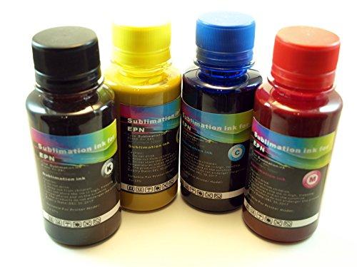 Cartuchorecargable SUBLIEPS100x6, Tinta Sublimación, 100 ml, NCMY