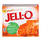 Jell-o, Gelatin Dessert, Peach (Pack of 6)