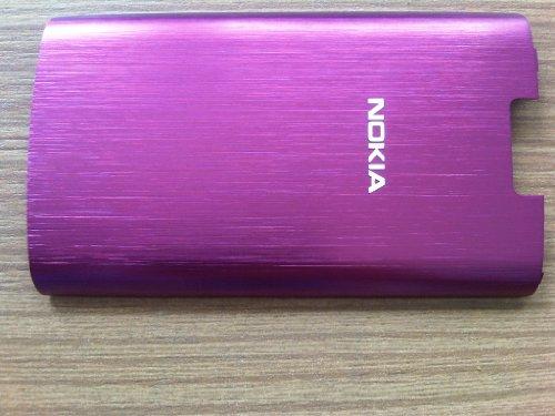 Original Nokia X3-02 Touch Akkufachdeckel Akkudeckel Cover pink / rosa