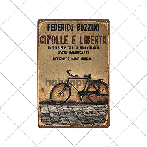 bestmugcupSS Retro Bicycle Metal Tin Signs Riding Bike Vintage Poster Bar Pub Club Room Decoration Wall Plaque Home Decor 2033007