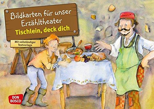 Tischlein, deck dich. Kamishibai Bildkartenset.: Entdecken. Erzählen. Begreifen: Märchen. (Märchen für unser Erzähltheater)