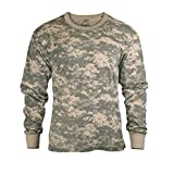 Rothco ACUデジタル ロングスリーブTシャツ(6385) (L)