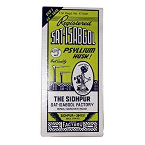 Sat-Isabgol (Psyllium Husk)Natural Laxative - Great Remedy For Constipation, Diarrhoea &Amp; Weight Loss-200G