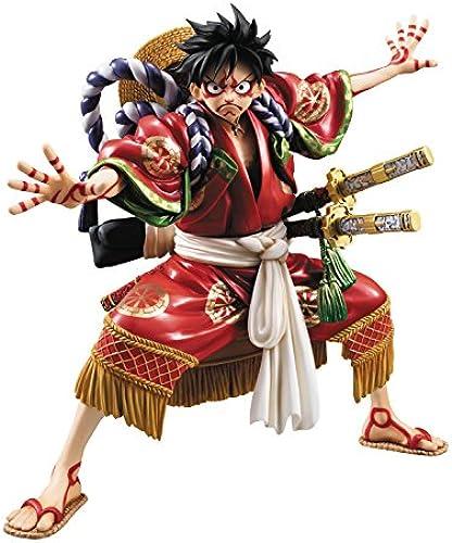 Unbekannt Megahouse Hochformat der Piraten Monkey D Luffy Kabuki-Version EX Modell PVC Figur (1 ück)